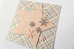 Papiernictvo - pohľadnica vianočná - 7384128_