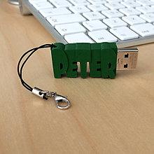 Iné - USB kľúč s vlastným názvom - prívesok (32GB 3.0) - 7383241_