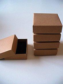 Krabičky - malá krabička s molitanom - 7385999_