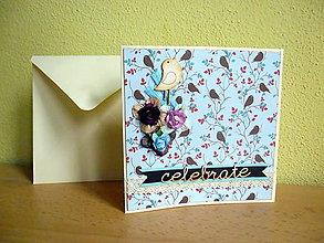 Papiernictvo - Pohľadnica: Celebrate - 7383210_