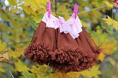 Detské oblečenie - tutu sukňa - 7387021_