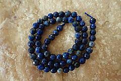 - Lapis Lazuli fazetovaný 6mm - 7386680_