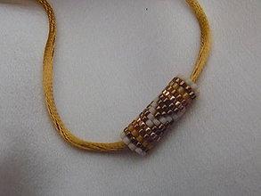Náhrdelníky - náhrdelník/náramok - 7385461_