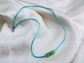 Náhrdelníky - náhrdelník/náramok - 7385565_
