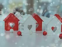 Dekorácie - Vianočné domčeky - 7389547_