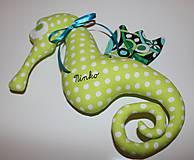Hračky - Morský koník pre chlapčeka - 7387518_