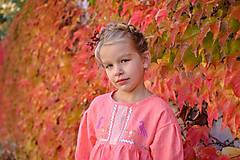 Detské oblečenie - Šaty IDA marhuľové - DOPREDAJ - 7390286_