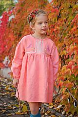 Detské oblečenie - Šaty IDA marhuľové - DOPREDAJ - 7390287_