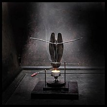 Svietidlá a sviečky - Aromalampa - vykurovadlo Anjel Djin - 7390925_