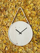 Hodiny - Marc Drop Clock - drevené nástenné hodiny - 7391233_