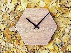 Hodiny - Šesťuholníkové stolové/nástenné hodiny - 7390751_