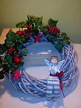 Dekorácie - Vianočný venček - 7389180_