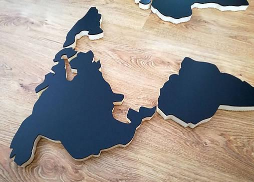 3d Mapa Sveta Na Stenu 60x120cm 3dshop Sashe Sk Handmade