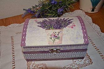 Krabičky - Šperkovnica - 7389609_