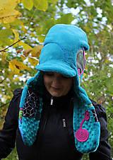 Čiapky - Extravagantná čiapka - 7387789_