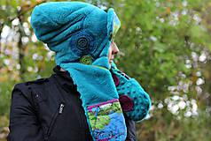 Čiapky - Extravagantná čiapka - 7387812_
