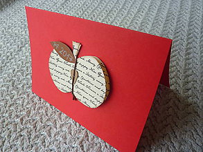 Drobnosti - jabĺčko - 7389813_