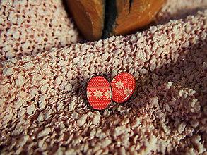Náušnice - Vianočné náušničky - 7389177_