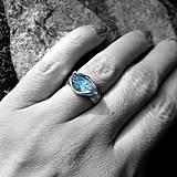 Prstene - Prsteň- Morris- akvamarín - 7387454_