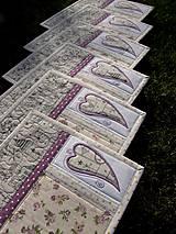 Úžitkový textil - Vianočné prestieranie No.13 :) - 7391756_