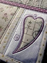 Úžitkový textil - Vianočné prestieranie No.13 :) - 7391758_