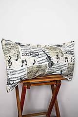 Úžitkový textil - _Poézia Hudby... 60x30 cm... KoMPLeT... - 7394155_