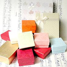 Obalový materiál - Darčekové balenie šperkov na mieru / Jewelry Gift Wrapping - 7393497_