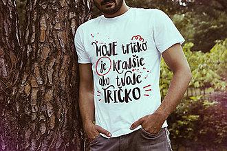 Oblečenie - Moje tričko je krajšie ako tvoje tričko - 7394821_