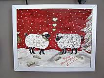 Obrazy - Láska na Vianoce - 7392258_