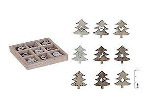 Polotovary - Drevené vianočné stromčeky - 7394741_