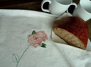 Úžitkový textil - Bavlnený  chlebník Arte postale - 7395272_