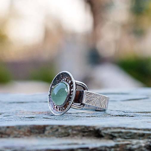 Strieborný prsteň - Misa