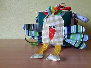 Hračky - Látková kocka MAŤKO - 7397045_