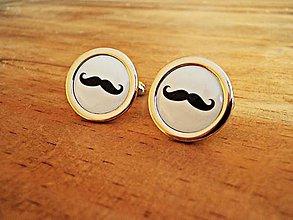 Šperky - Hercule Poirot... alebo žeby mustache? - 7396949_