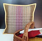 Úžitkový textil - Ručne tkaná obliečka 2/2 - 7394718_