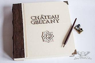 """Papiernictvo - Kronika """"Château Gbeľany II. """"  / na zákazku :) - 7394735_"""