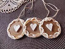 Dekorácie - Vianočná sada - drievka pre romantickú dušu:-) - 7401360_