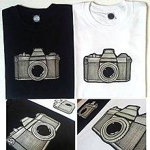 Oblečenie - Pánské tričko Old Camera - 7399390_
