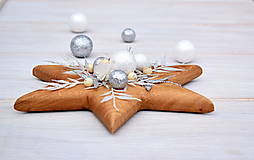 Dekorácie - Vianočná hviezda - 7398969_