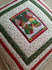 Úžitkový textil - Vankúš *Vianoce* - 7398064_