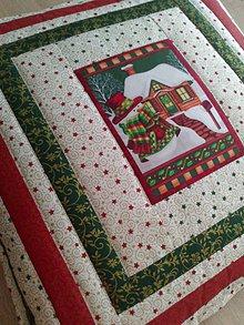 Úžitkový textil - Vankúš *Vianoce* - 7398321_