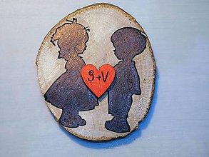 Darčeky pre svadobčanov - vintage svadba/magnetky pre svadobčanov 3 - 7398623_