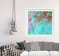 Obrazy - Abstrakt maľba - 7400045_