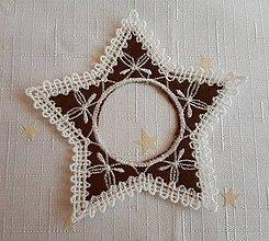 Dekorácie - Vianočný svietnik č. 50 - 7402168_