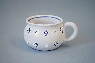 Nádoby - Buclák espresso hrneček - bílý - 7399160_