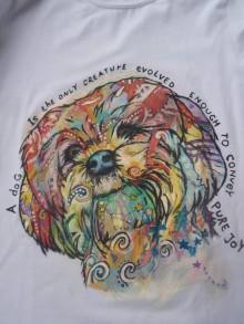 Detské oblečenie - farebný psík na tričku č.2 - 7398727_