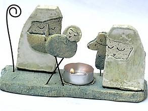 Svietidlá a sviečky - svietnik Betlehem dlhý - 7400164_