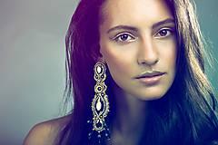 Náušnice - Fashion queen - 7399199_
