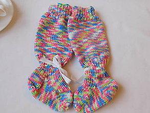 Topánočky - baby nadkolienky - návleky (v.11 cm) - 7398494_