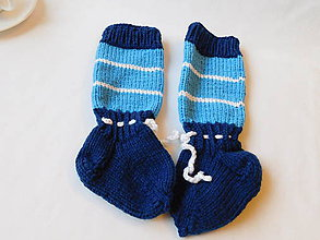 Topánočky - baby nadkolienky (v.12cm) - 7398515_